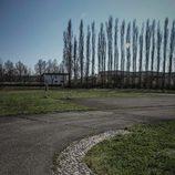 Fábrica abandonada Bugatti Campogalliano - pasos exteriores