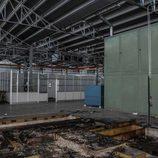 Fábrica abandonada Bugatti Campogalliano - zona de trabajo