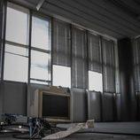 Fábrica abandonada Bugatti Campogalliano - ventanas