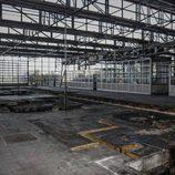 Fábrica abandonada Bugatti Campogalliano - zonas de trabajo