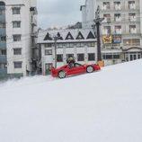 Red Bull Snow Camp - Ferrari F40 climb
