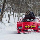 Red Bull Snow Camp - Ferrari F40 front