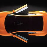 Audi Quattro Spyder 1991 - top