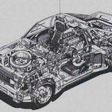 Audi Group S Rally Prototype - esquqema