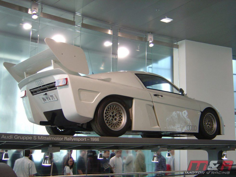 Audi Group S Rally Prototype - rear
