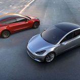 Tesla Model 3 - prototipos