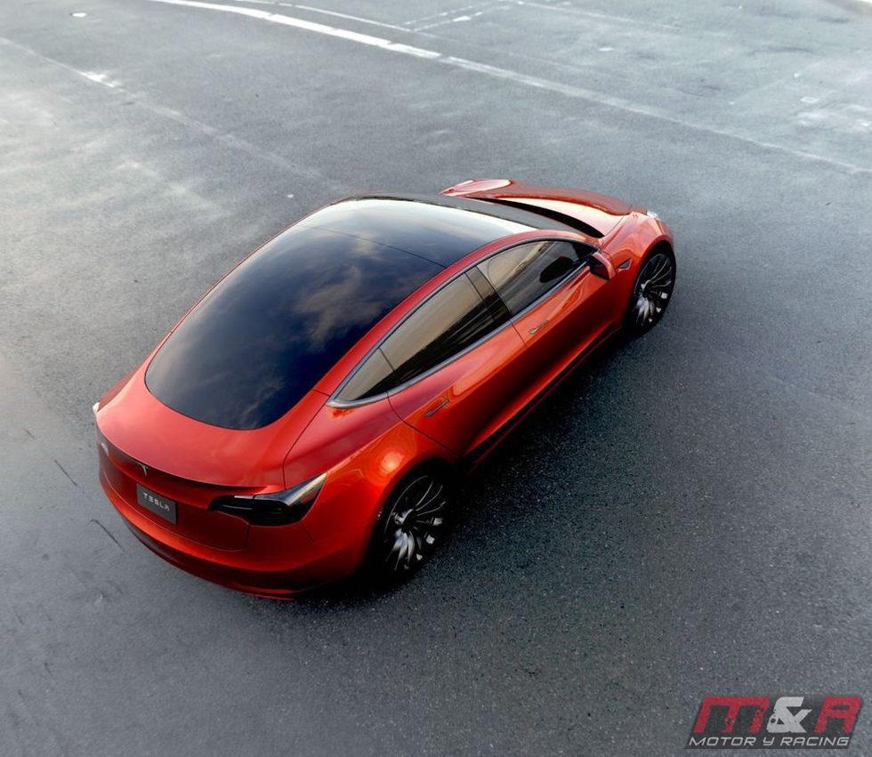 Tesla Model 3 - imágenes