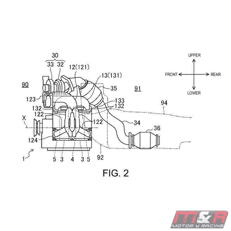 Patentes nuevo motor rotativo Mazda - imágenes