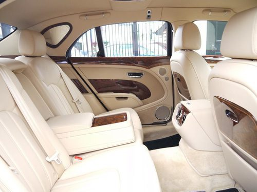 Bentley Bentayga Firs Edition 2016  - asientos
