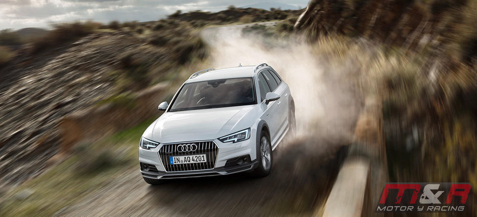 Audi A4 Allroad 2016 -  tierra