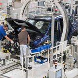 Volkswagen Tiguan 2016 Fabricación - máquina