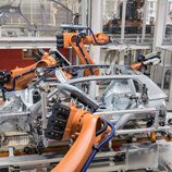 Volkswagen Tiguan 2016 Fabricación - robots
