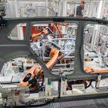 Volkswagen Tiguan 2016 Fabricación - acero