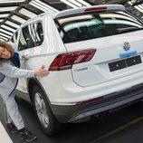 Volkswagen Tiguan 2016 Fabricación - zaga