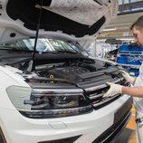 Volkswagen Tiguan 2016 Fabricación - parrila