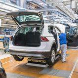 Volkswagen Tiguan 2016 Fabricación - maletero