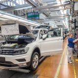 Volkswagen Tiguan 2016 Fabricación - vano
