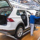 Volkswagen Tiguan 2016 Fabricación - portón