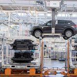 Volkswagen Tiguan 2016 Fabricación - material