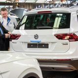 Volkswagen Tiguan 2016 Fabricación - revisión