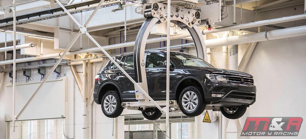 Volkswagen Tiguan 2016 Fabricación - finalizado