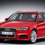 Audi A3 2016 - rojo