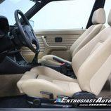 BMW M3 E30 1991 - asientos