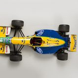 Benetton Ford B191 1991-1992 - aerial