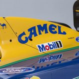 Benetton Ford B191 1991-1992 - chimenea