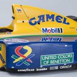 Benetton Ford B191 1991-1992 - pontones