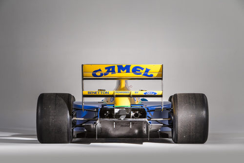 Benetton Ford B191 1991-1992 - back