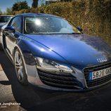 Billionaire Motor Club Madrid abril 2016 - Audi R8 azul