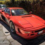 Billionaire Motor Club Madrid abril 2016 - Ferrari Testarossa