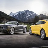 Ford Mustang 2016 - amarillo