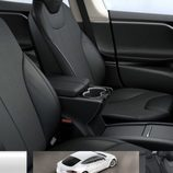 Tesla Model S 2017 filtración - interior
