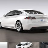 Tesla Model S 2017 filtración - zaga