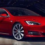 Tesla Model S 2017 filtración - delantera