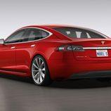 Tesla Model S 2017 - trasera
