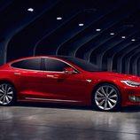 Tesla Model S 2017 - puerta