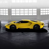 Ford GT 2017 amarillo tricapa - side