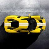 Ford GT 2017 amarillo tricapa - superior