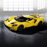 Ford GT 2017 amarillo tricapa - frontal