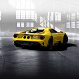 Ford GT 2017 amarillo tricapa - rear