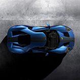 Ford GT 2017 azul liquid- superior
