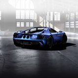 Ford GT 2017  azul liquid- rear