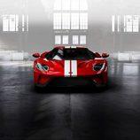 Ford GT 2017 rojo liquid - front