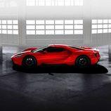Ford GT 2017 rojo liquid - side