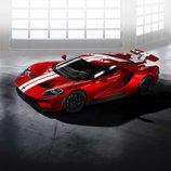 Ford GT 2017 rojo liquid - frontal