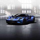 Ford GT 2017  azul liquid- delantera
