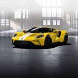 Ford GT 2017 amarillo tricapa - delantero